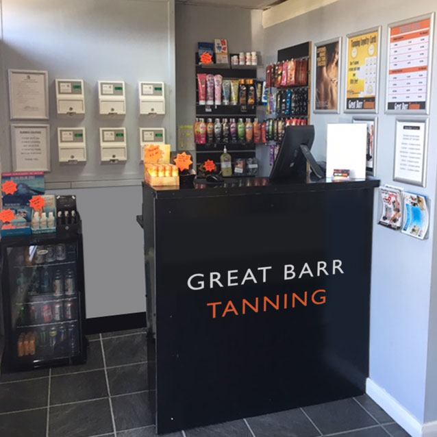 Great Barr Tanning great value low cost accelerators.